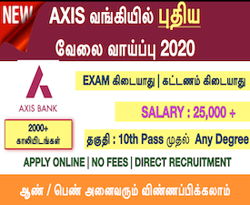 bank recruitment 2015 in tamilnadu